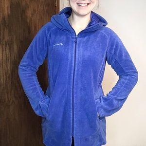 Columbia   Fleece Bell Sleeve Full Zip Jacket